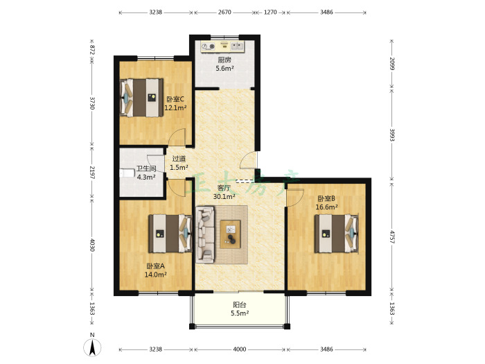 卓达科苑公寓