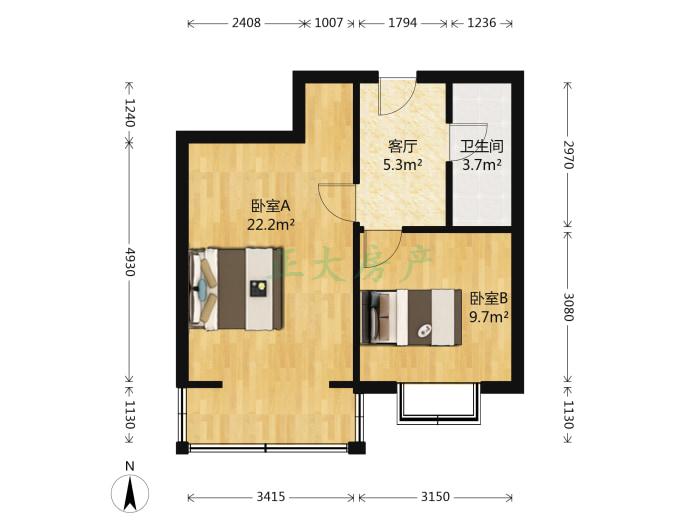 北方设计研究院宿舍四区