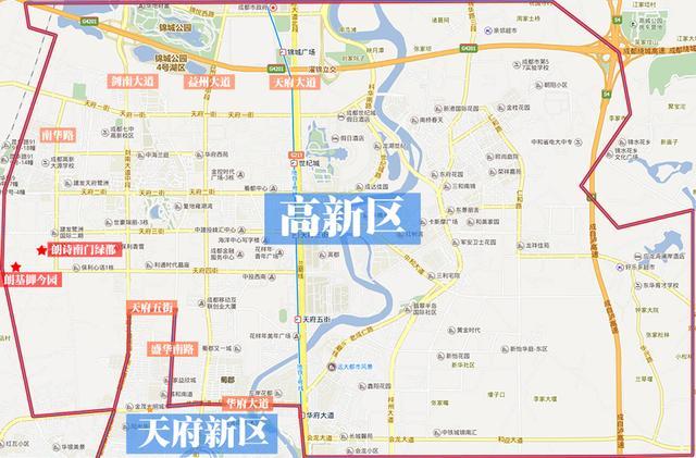 要买房落户 你分得清城南的三大行政区域吗?_