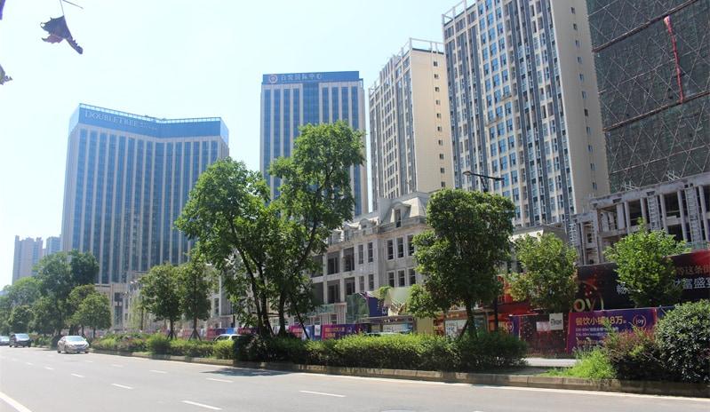 百悦城商业中心实景图
