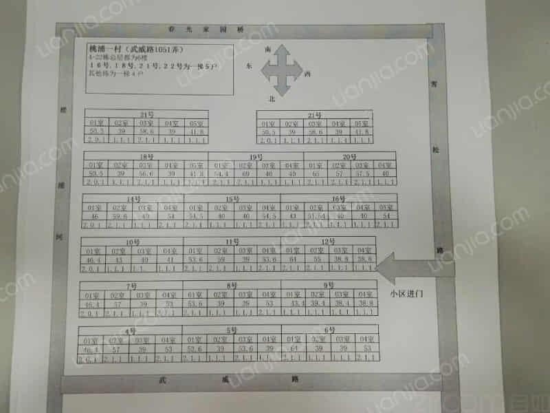 桃浦一村(武威路1051弄)房源出租信息