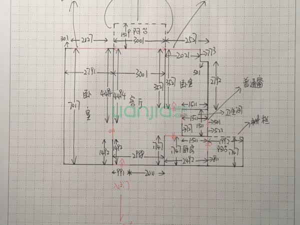 主卧电路分布图